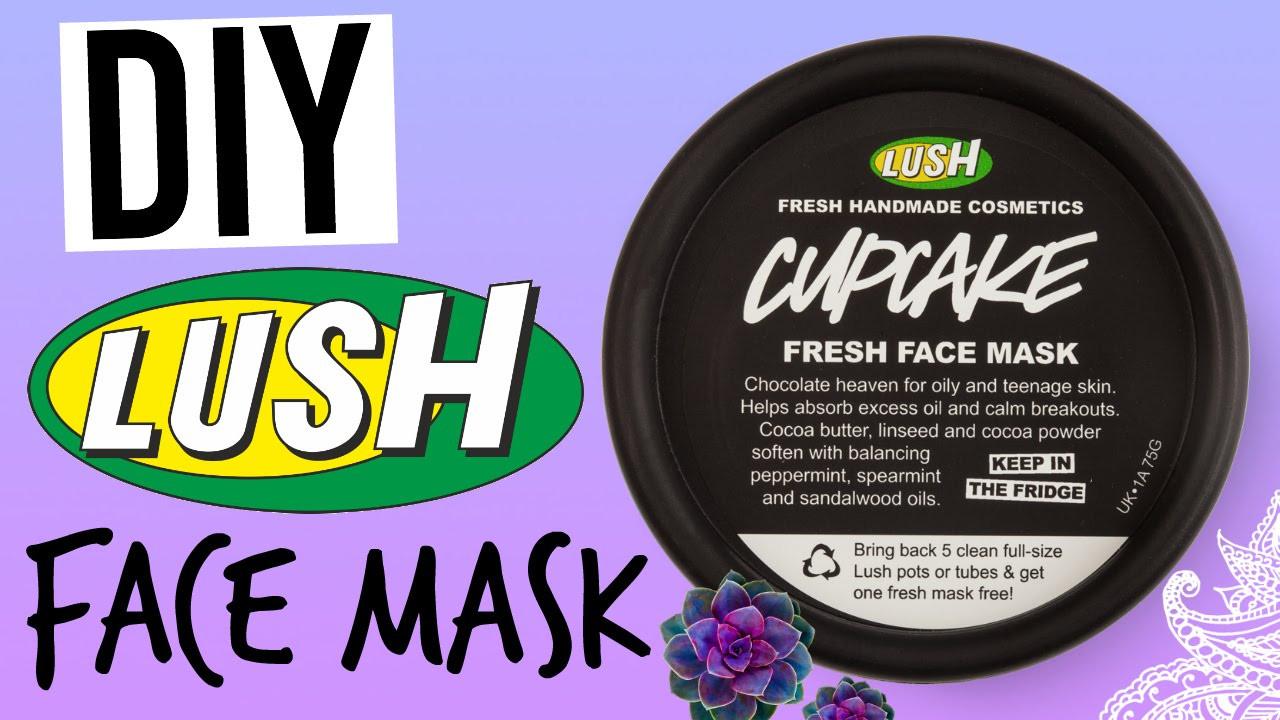 DIY Lush Face Mask  DIY LUSH CUPCAKE FACE MASK