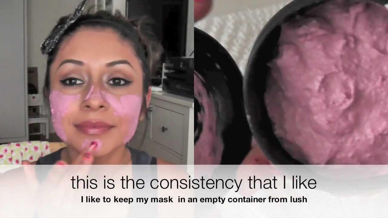 DIY Lush Face Mask  DIY Lush face mask SUPER EASY AFFORDABLE