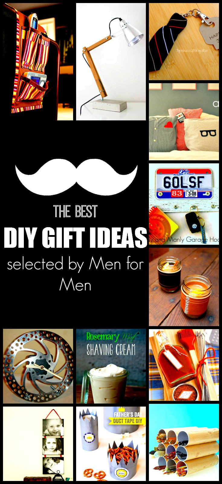 DIY Man Gifts  29 best images about Gifts for men on Pinterest