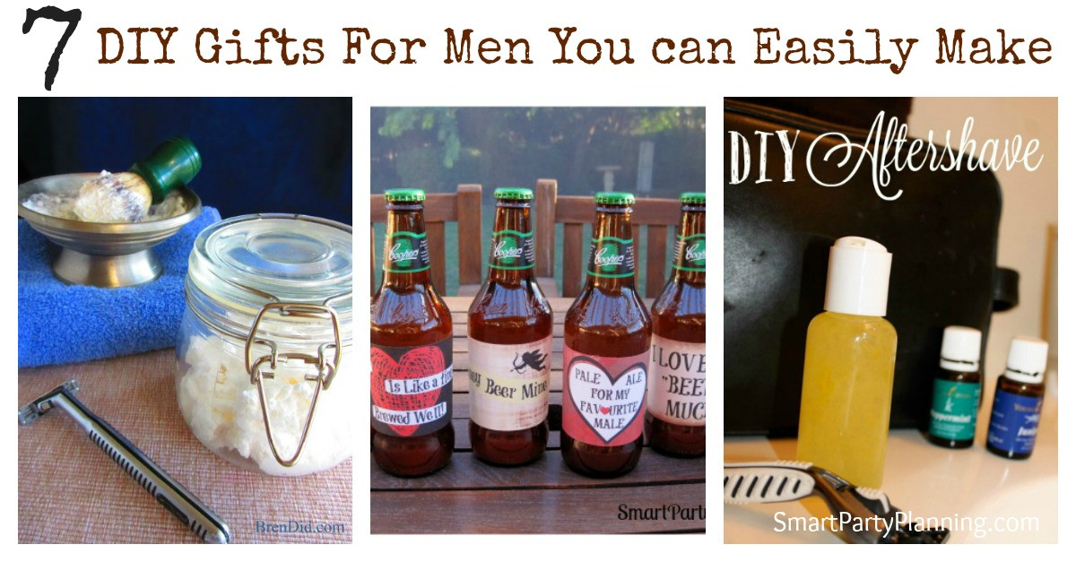 DIY Man Gifts  7 DIY Gifts For Men You Can Easily Make