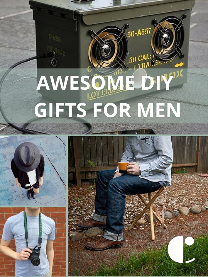 DIY Man Gifts  Gift Guide 14 Seriously Awesome DIY Gifts for Men