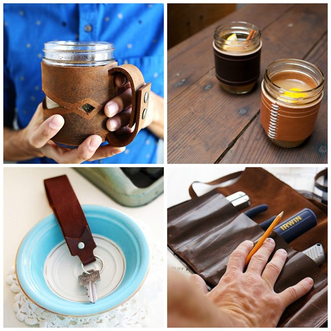 DIY Man Gifts  25 DIY Leather Gifts for Men EverythingEtsy