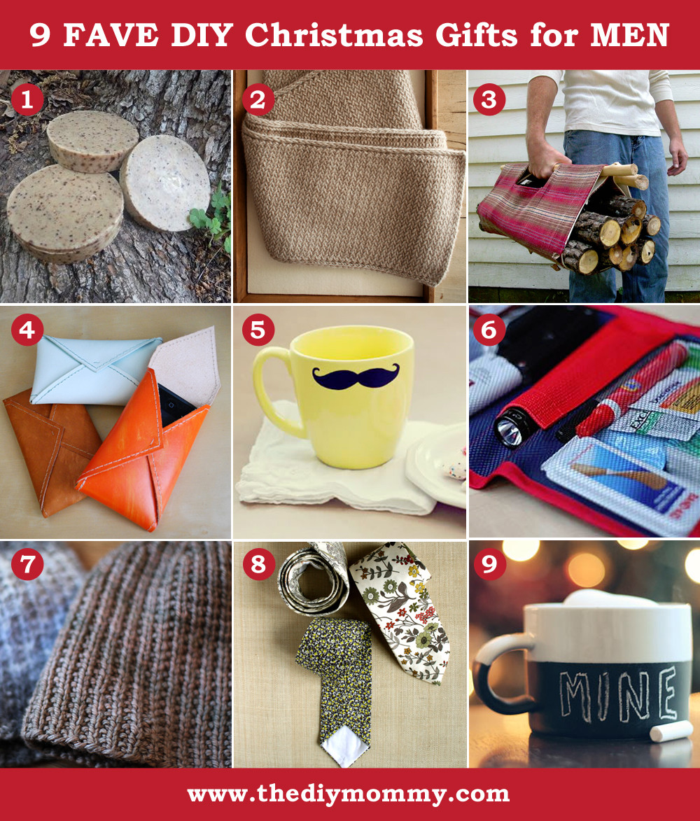 DIY Man Gifts  A Handmade Christmas DIY Gifts for Men