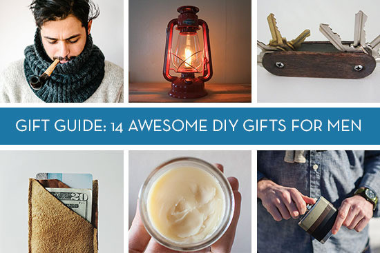 DIY Man Gifts  Gift Guide 14 Awesome DIY Gifts for Men