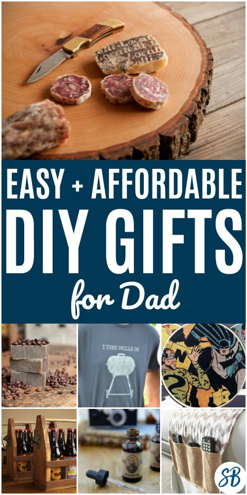DIY Man Gifts  35 DIY Gifts for the Men in Your Life Sarah Blooms