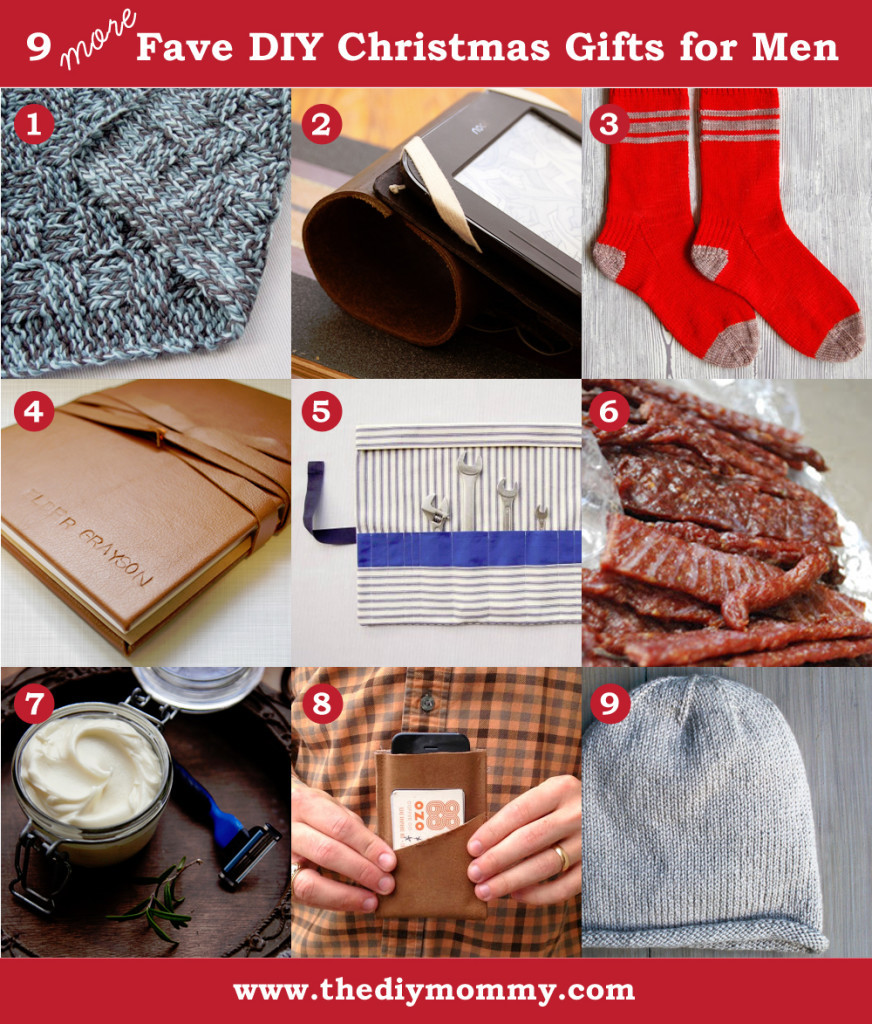 DIY Man Gifts  A Handmade Christmas More DIY Gifts for Men