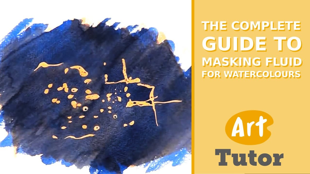 DIY Masking Fluid  The plete Guide to Masking Fluid for Watercolours