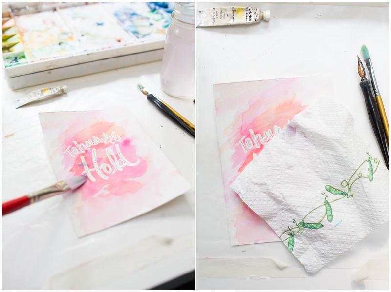 DIY Masking Fluid  Watercolor DIY