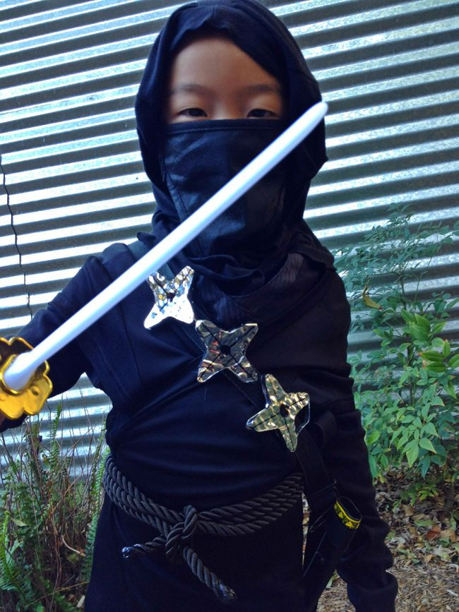 DIY Ninja Mask  25 best ideas about Ninja costumes on Pinterest
