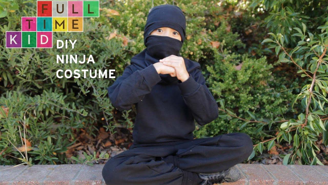 DIY Ninja Mask  DIY Ninja Costume Full Time Kid