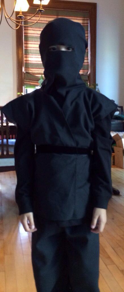 DIY Ninja Mask  Easy DIY Ninja Costume Paperblog