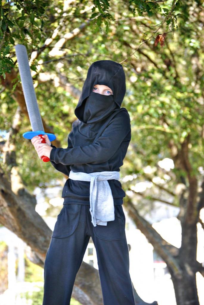 DIY Ninja Mask  Ninja Costume Dandelion Drift
