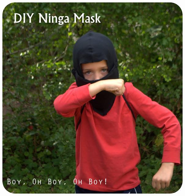 DIY Ninja Mask  DIY Ninja Mask Beatnik Kids