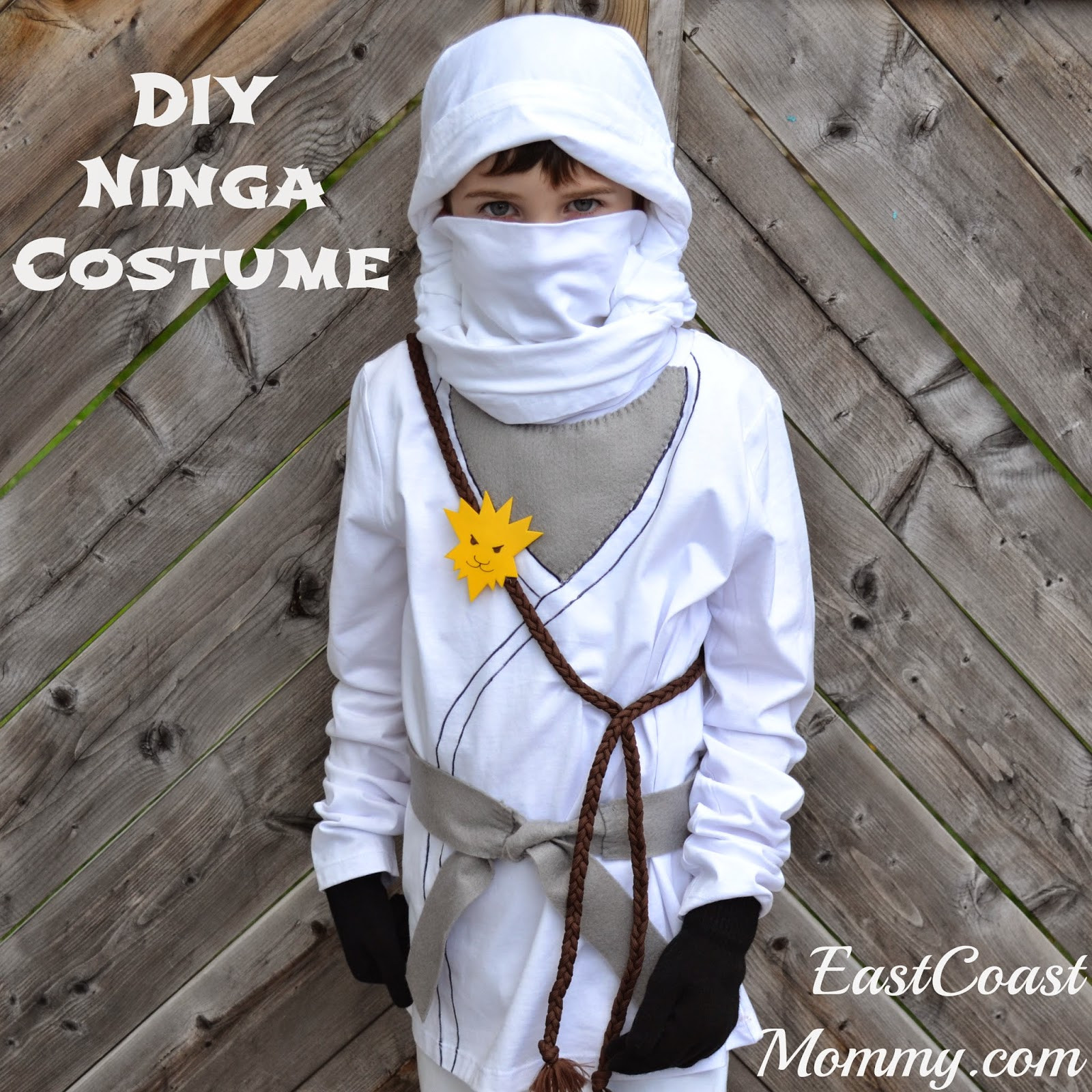 DIY Ninja Mask  East Coast Mommy 20 Awesome No Sew Costumes for Kids