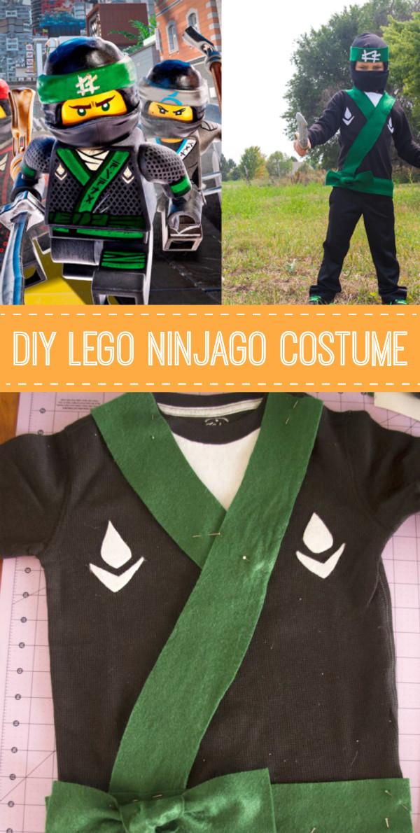 DIY Ninja Mask  DIY LEGO Ninjago Costume