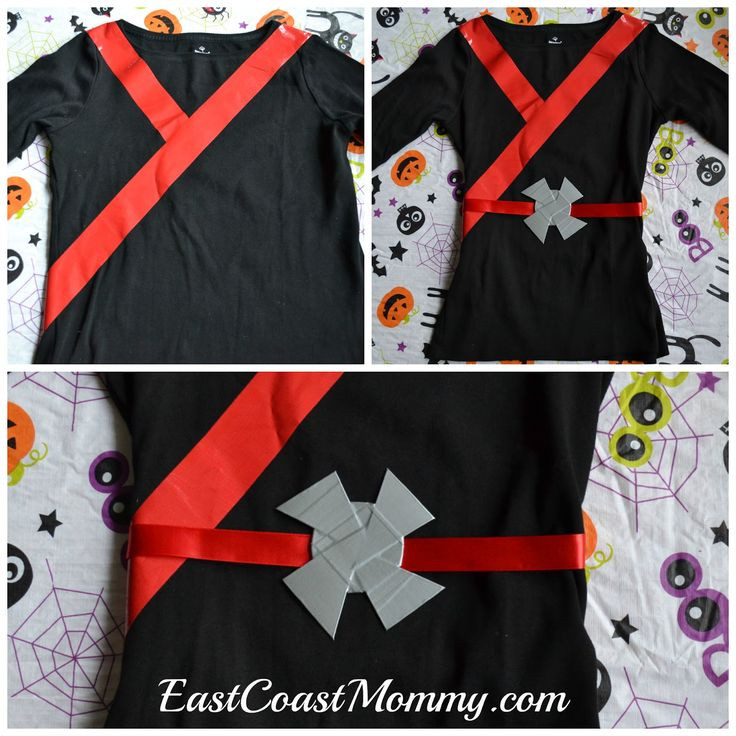 DIY Ninja Mask  10 best ideas about Ninja Costumes on Pinterest