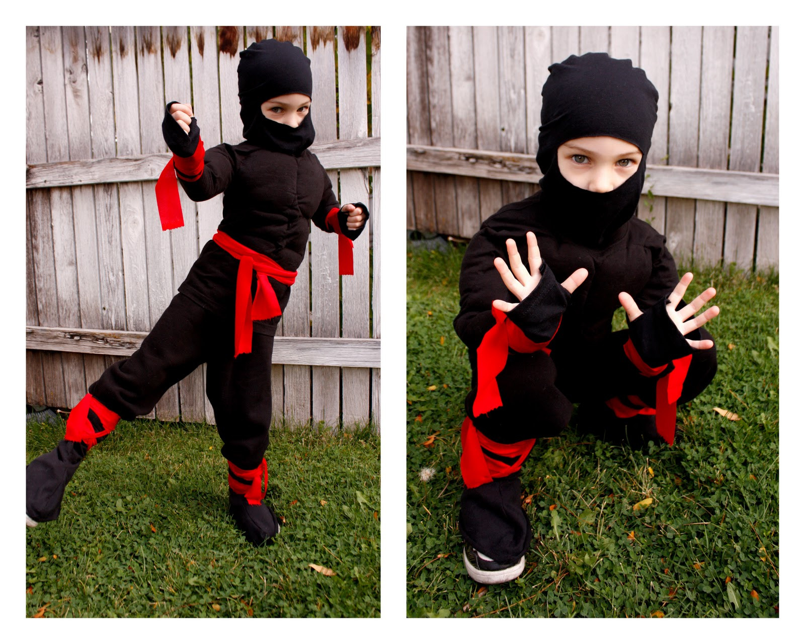 DIY Ninja Mask  ninja costume