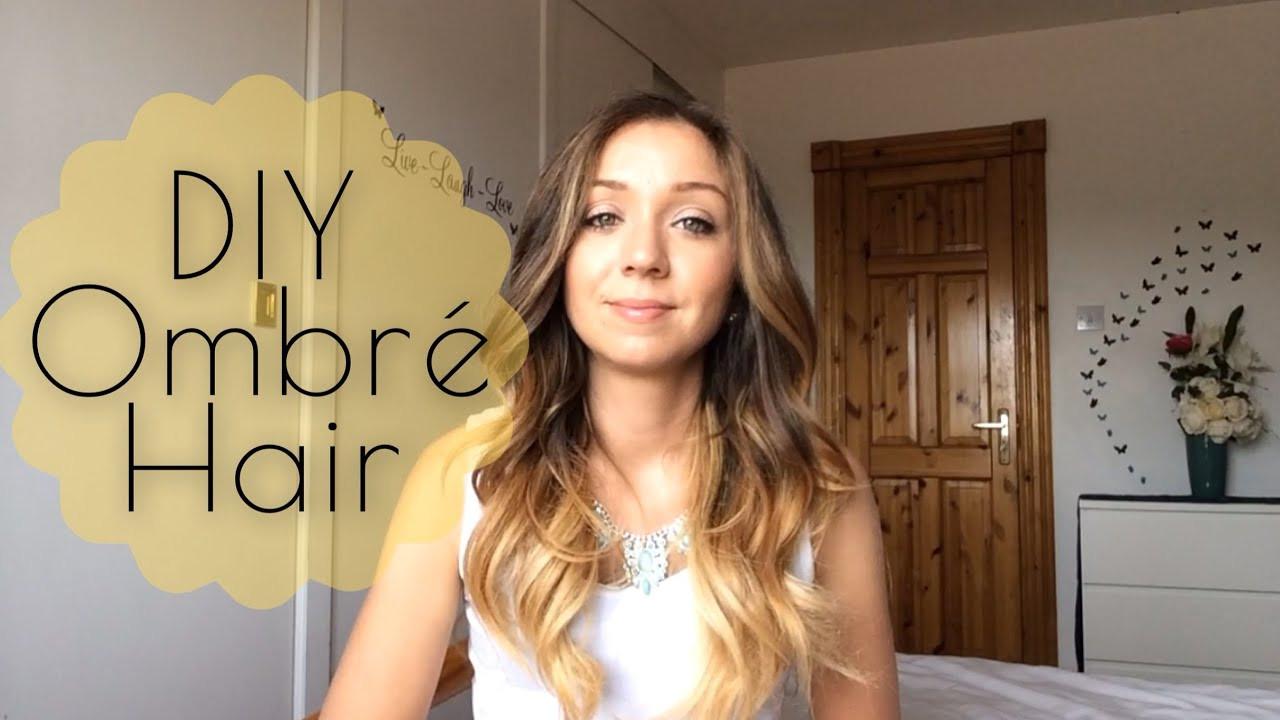 DIY Ombre Short Hair  DIY How to Ombré Hair at Home