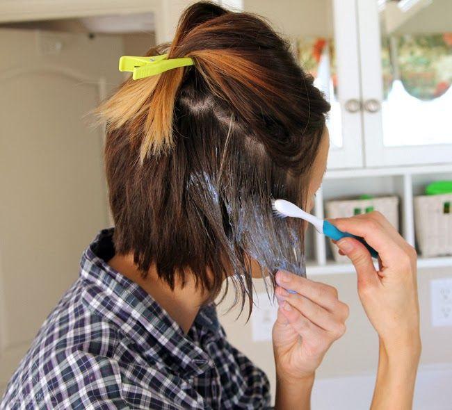 DIY Ombre Short Hair  Best 25 Ombre short hair ideas on Pinterest