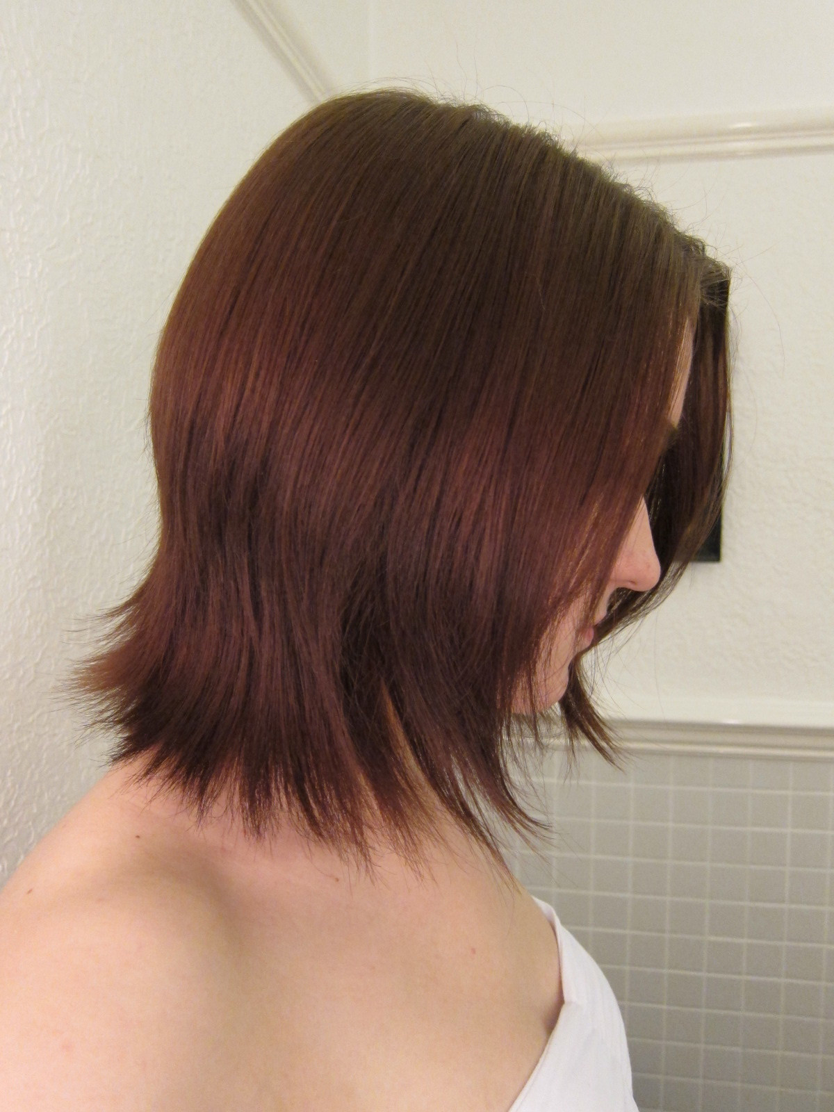 DIY Ombre Short Hair  Neeny s Wishlist How to DIY Ombre on short hair
