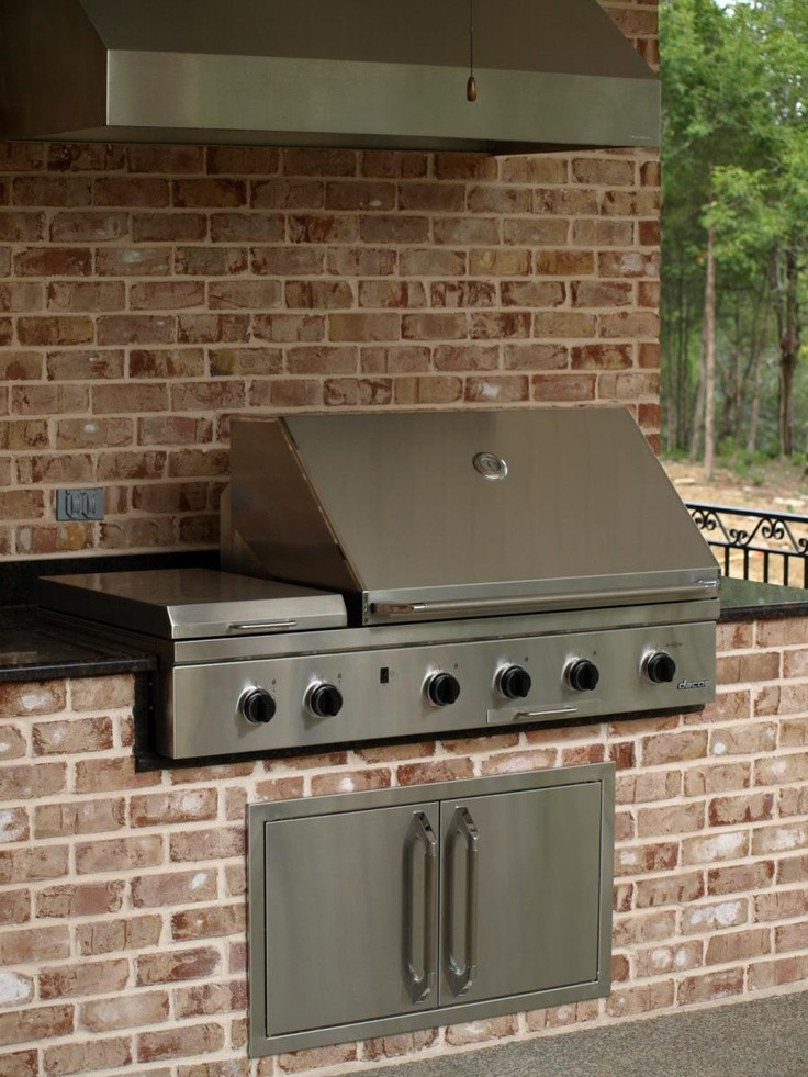 DIY Outdoor Grill Vent Hood  17 Best images about Outside grill bar on Pinterest