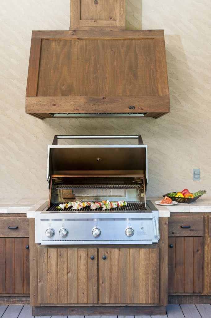 DIY Outdoor Grill Vent Hood  41 best ideas about Outdoor Kitchen on Pinterest
