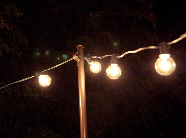 DIY Outdoor String Lights  Bright July DIY Outdoor String Lights