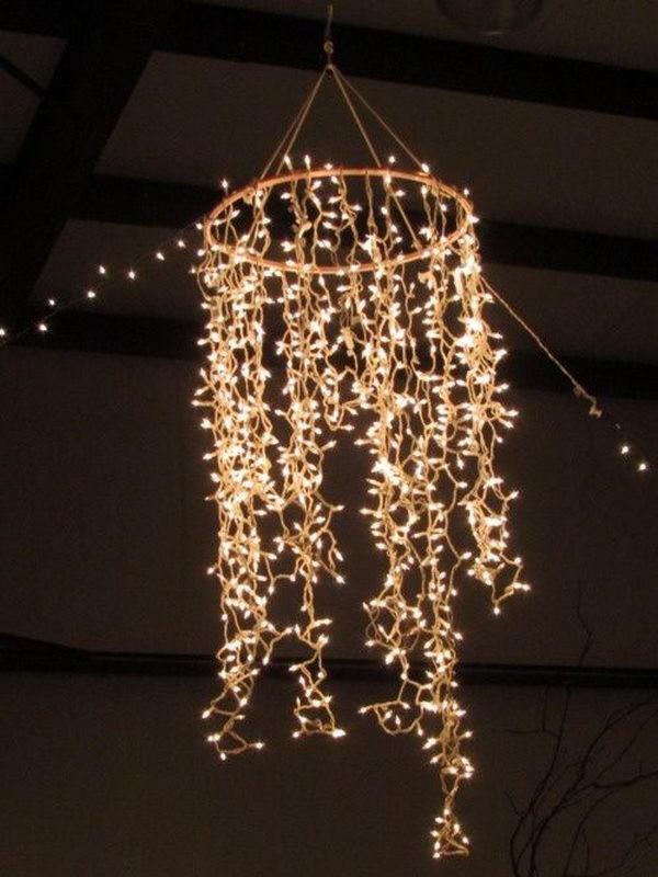 DIY Outdoor String Lights  30 Cool String Lights DIY Ideas Hative