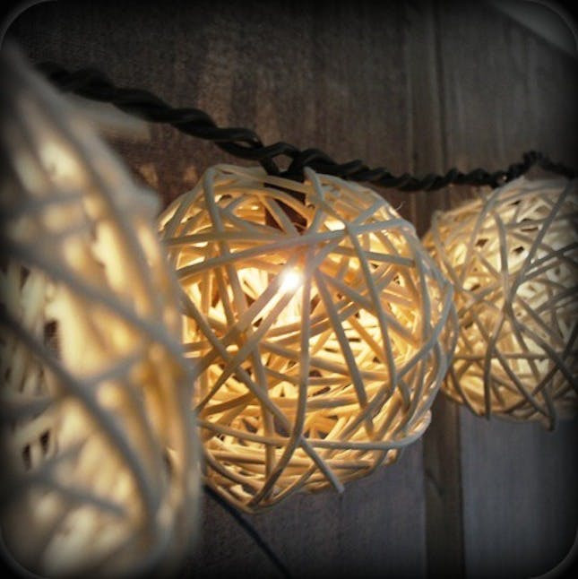 DIY Outdoor String Lights  18 Whimsical Ways to Decorate With String Lights