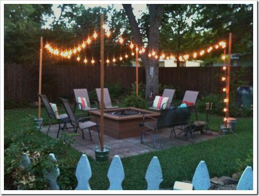 DIY Outdoor String Lights  DIY Outdoor Patio String Lights Landscape Lighting Guru