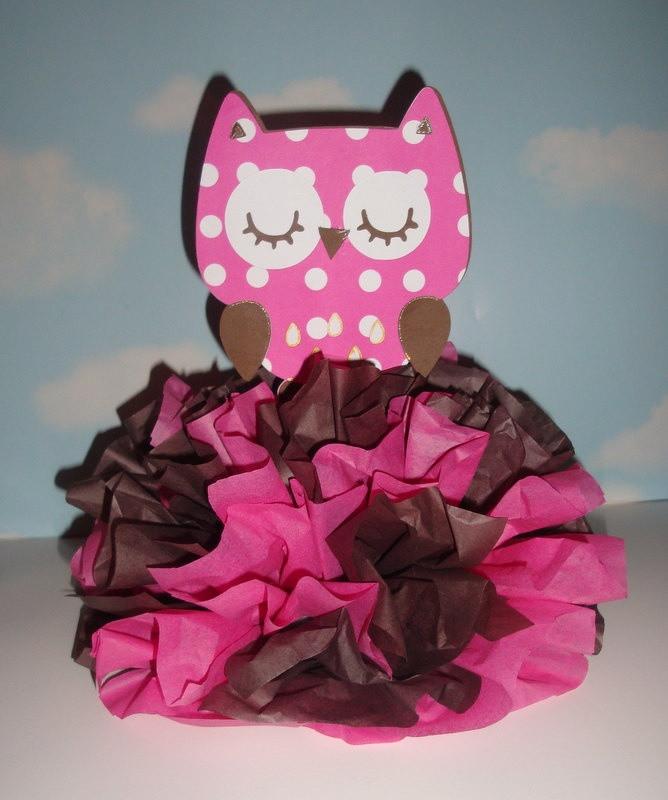 DIY Owl Baby Shower Decorations  Owl Centerpiece Decoration KIT DIY plete Birthday Baby