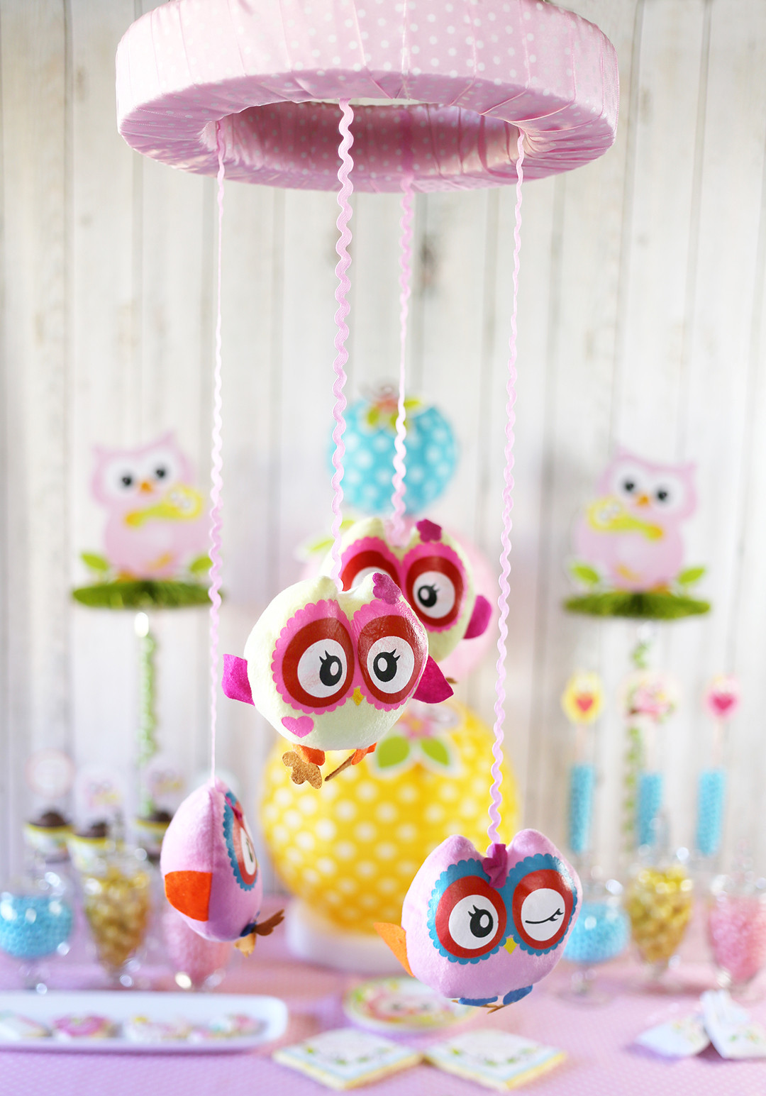 DIY Owl Baby Shower Decorations  Cute Owl Baby Shower Ideas