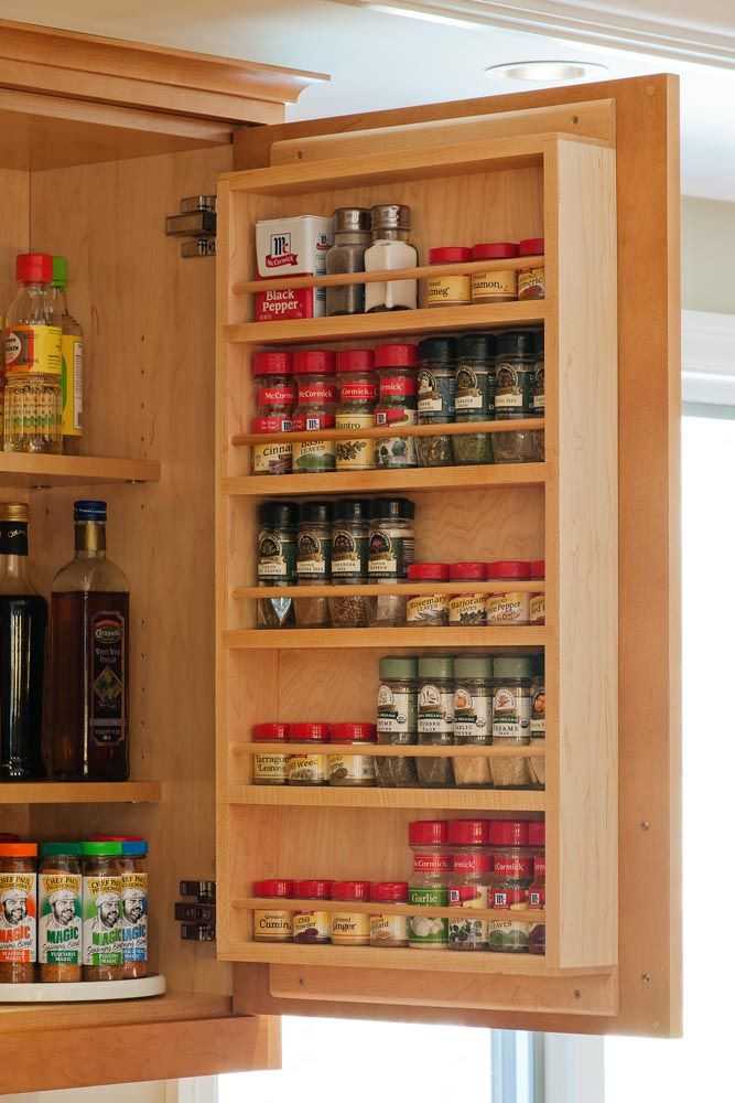 DIY Pantry Door Spice Rack  24 Latest Designs & Patterns for Your New Spice Rack