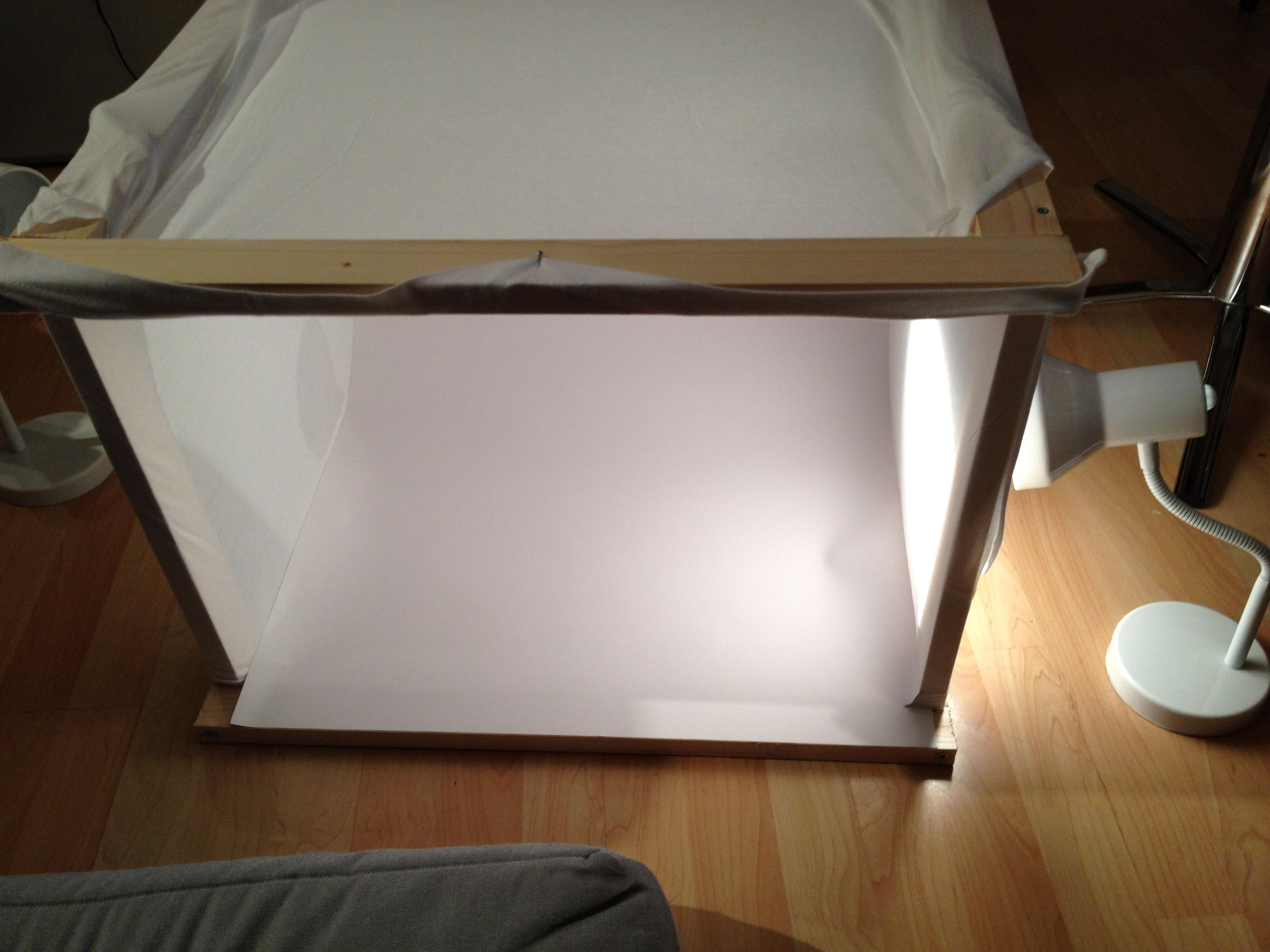 DIY Photo Studio Box  DIY – Making my own Mini Studio
