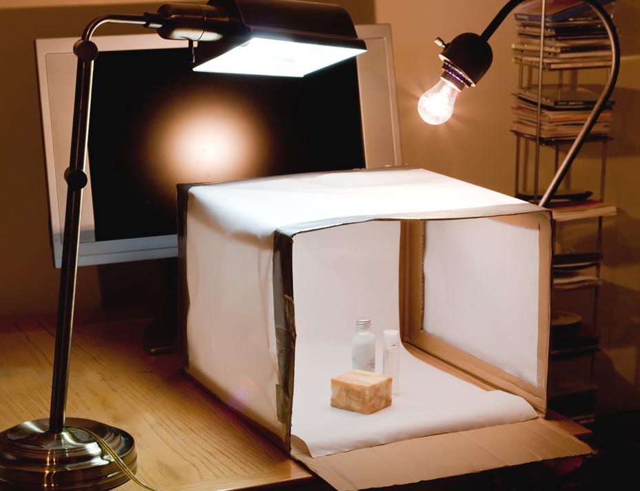 DIY Photo Studio Box  homemade photobox
