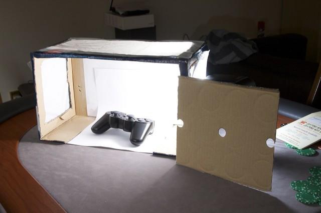 DIY Photo Studio Box  DIY Beer box Macro Studio