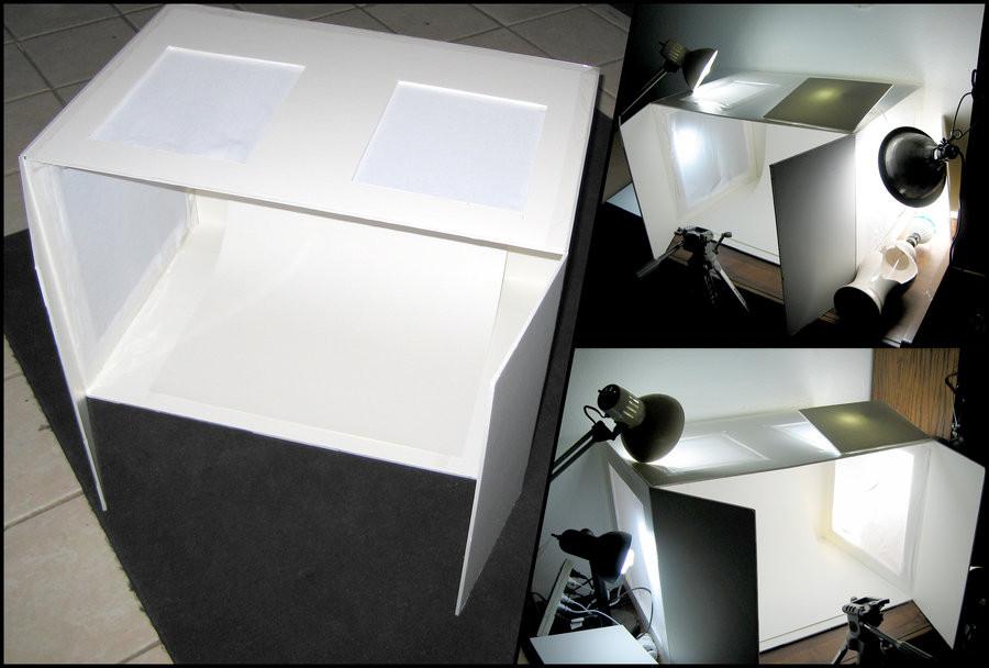 DIY Photo Studio Box  DIY Light Box Setup by Azmal on DeviantArt