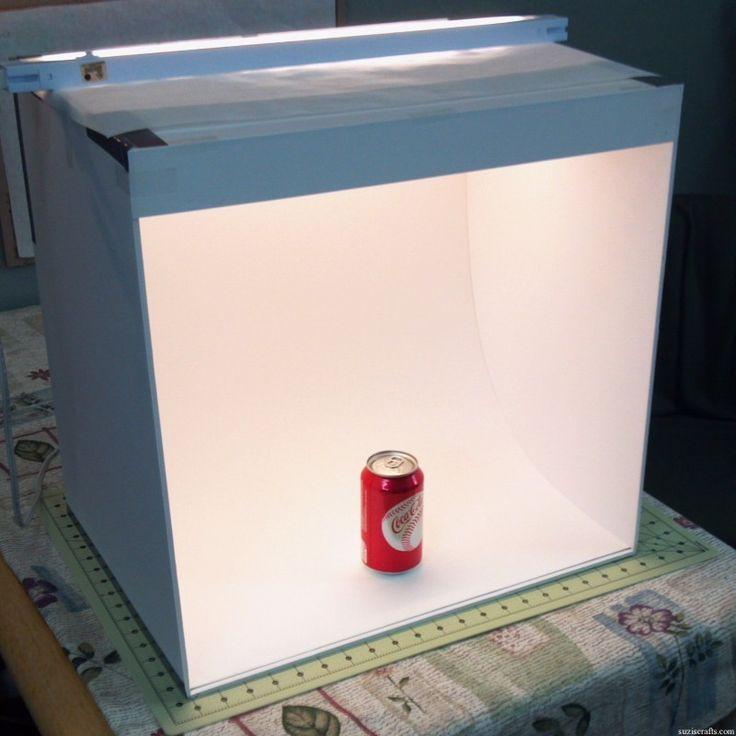 DIY Photo Studio Box  Best 25 Diy light box ideas on Pinterest