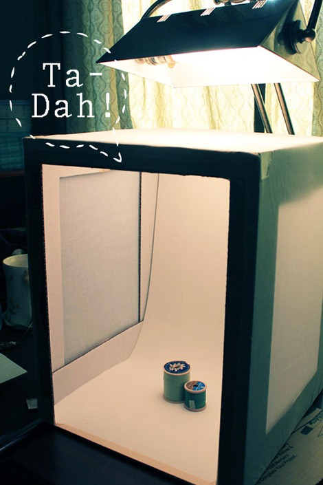 DIY Photo Studio Box  Improve Your Product graphy 5 DIY Tutorials