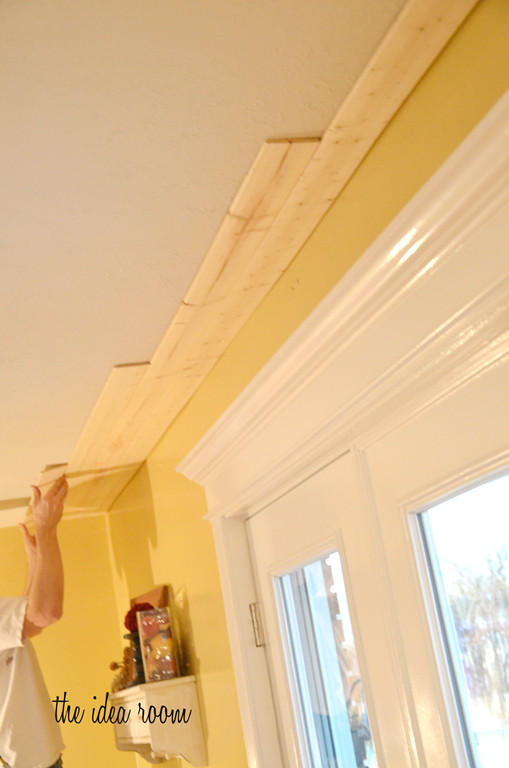 DIY Plank Ceiling  How to DIY a Wood Plank Ceiling