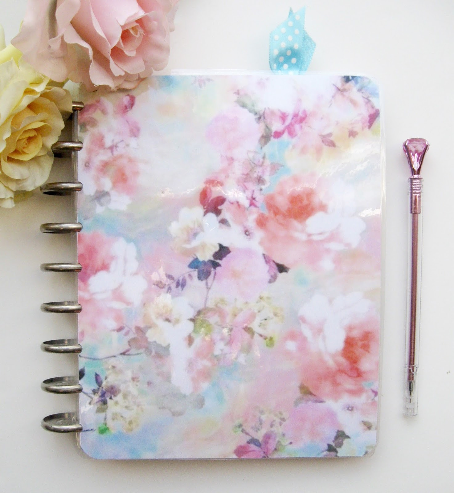 DIY Planner Cover  A Palette Full of Blessings Happy Planner new DIY cover