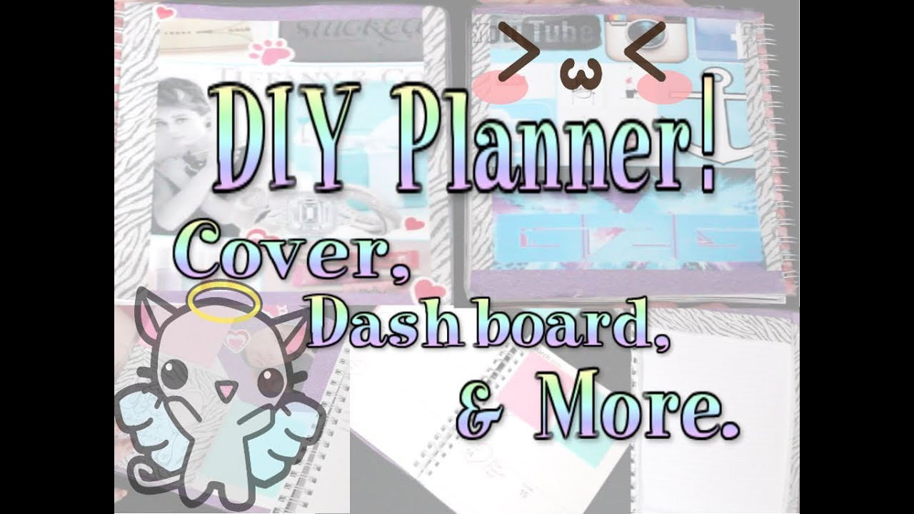 DIY Planner Cover  DIY PLANNER Cover Dashboard and notebook