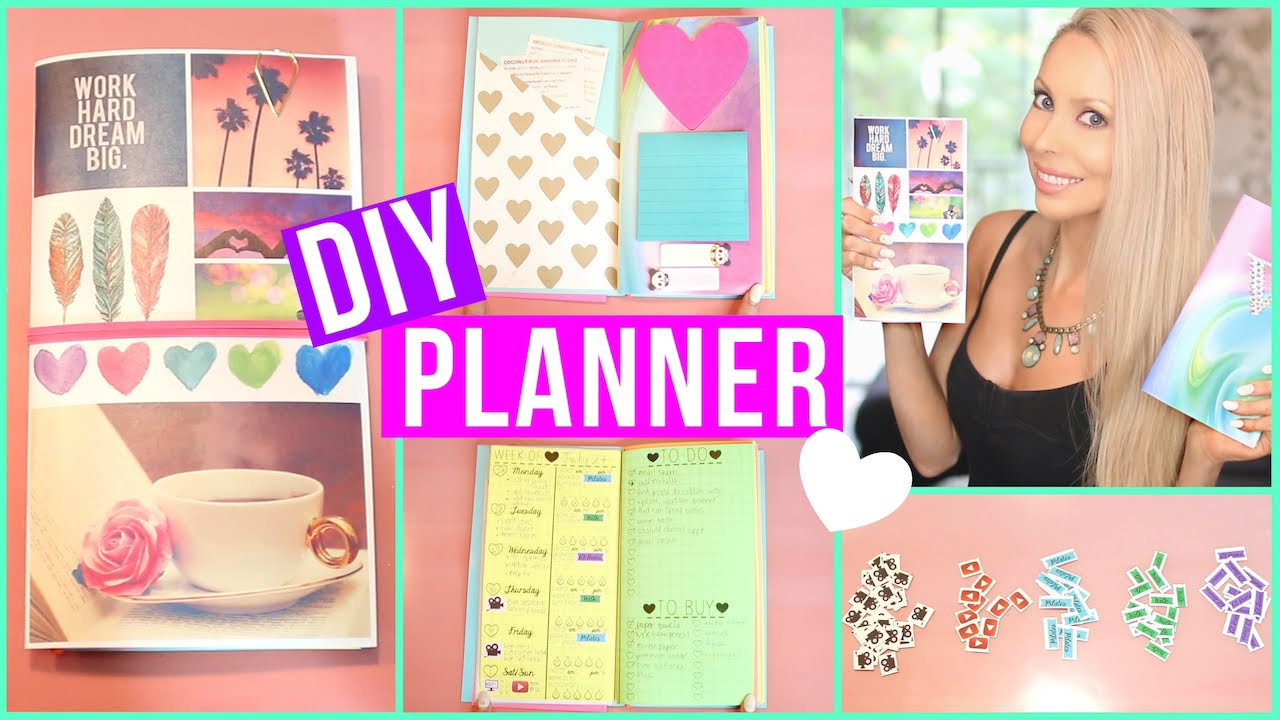 DIY Planner Cover  DIY Planner ♡ Cover Inserts Stickers More