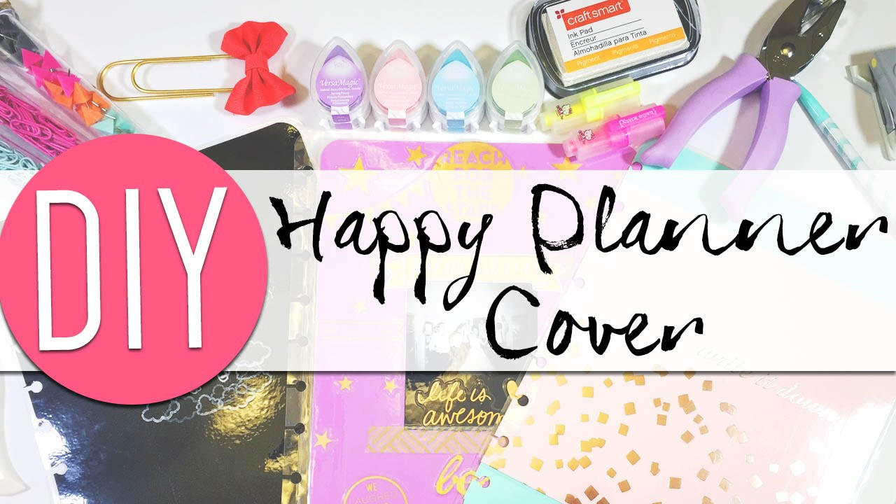 DIY Planner Cover  DIY Make Your Own Happy Planner Covers