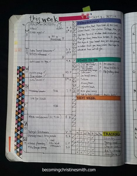 DIY Planner From Notebook  diy planner Google Search organized