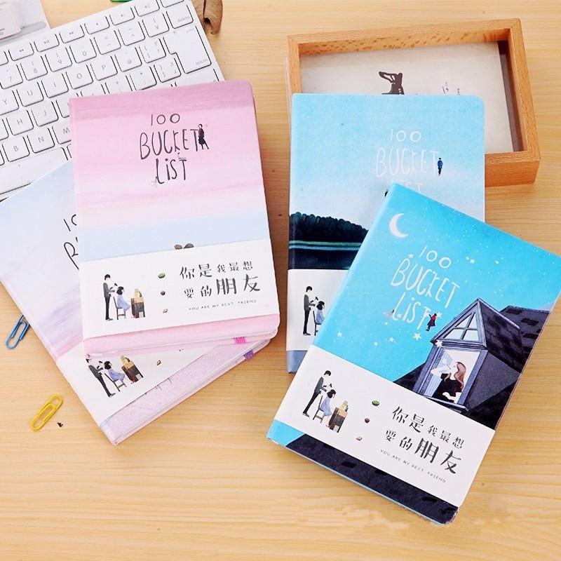 DIY Planner From Notebook  Cute Kawaii Stationery Handbook Notebook Leather Journal