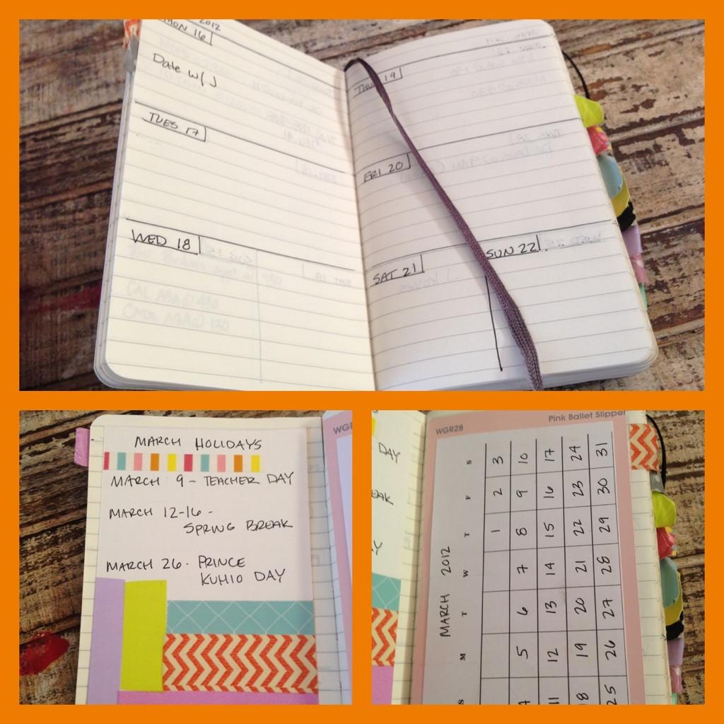 DIY Planner From Notebook  Moleskine Notebook Planner Hack