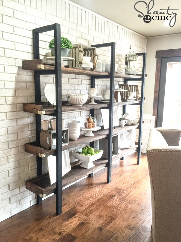 DIY Plate Rack  DIY Plate Rack for $95 Shanty 2 Chic