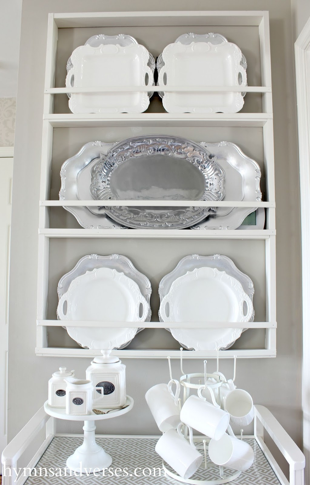 DIY Plate Rack  Build Your Own DIY Plate Rack Easy Plans Hymns and Verses