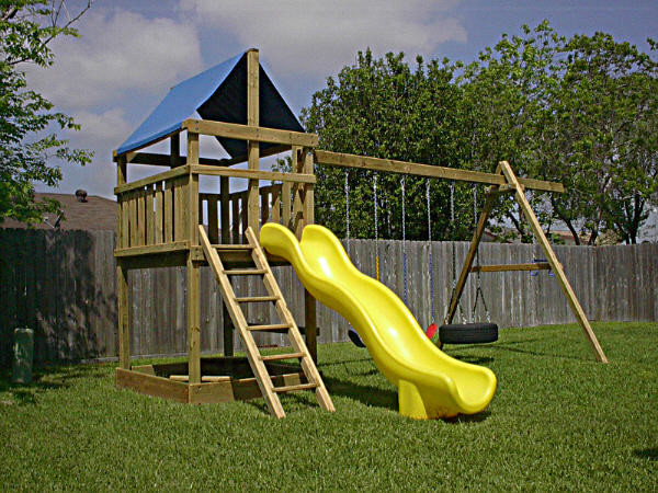 DIY Playset Plans  Do It Yourself Wooden Swing Set Plans